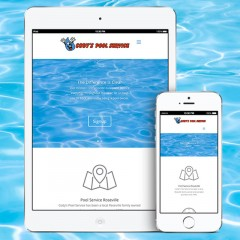 Website Design Cody's Pool Service
