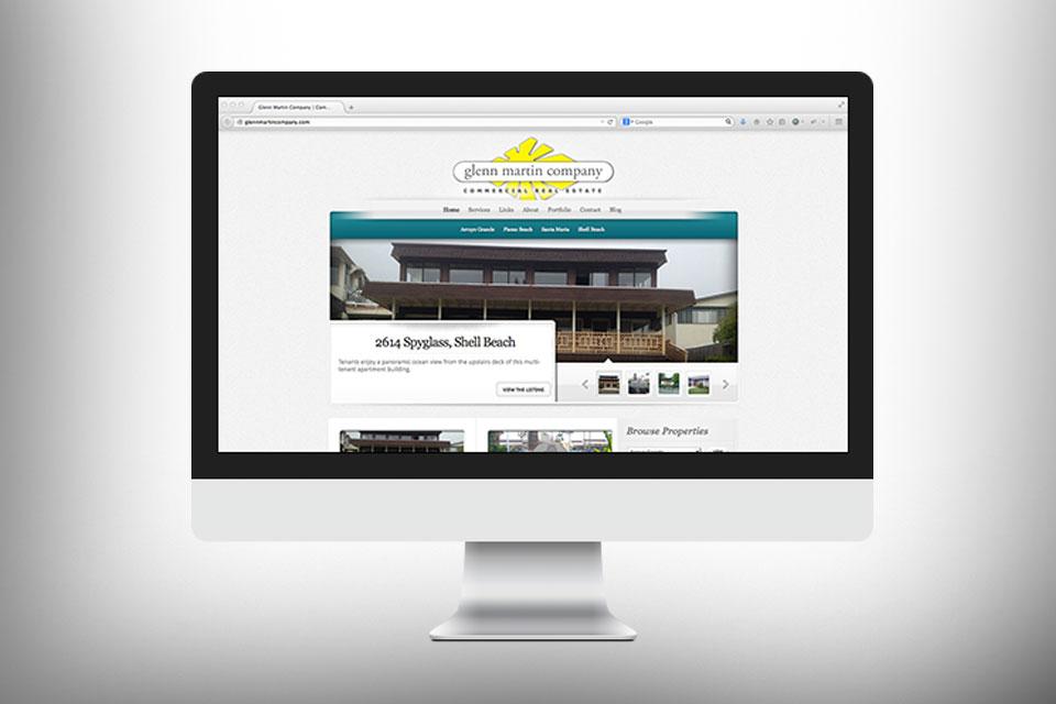 Website Design Glenn Martin Company